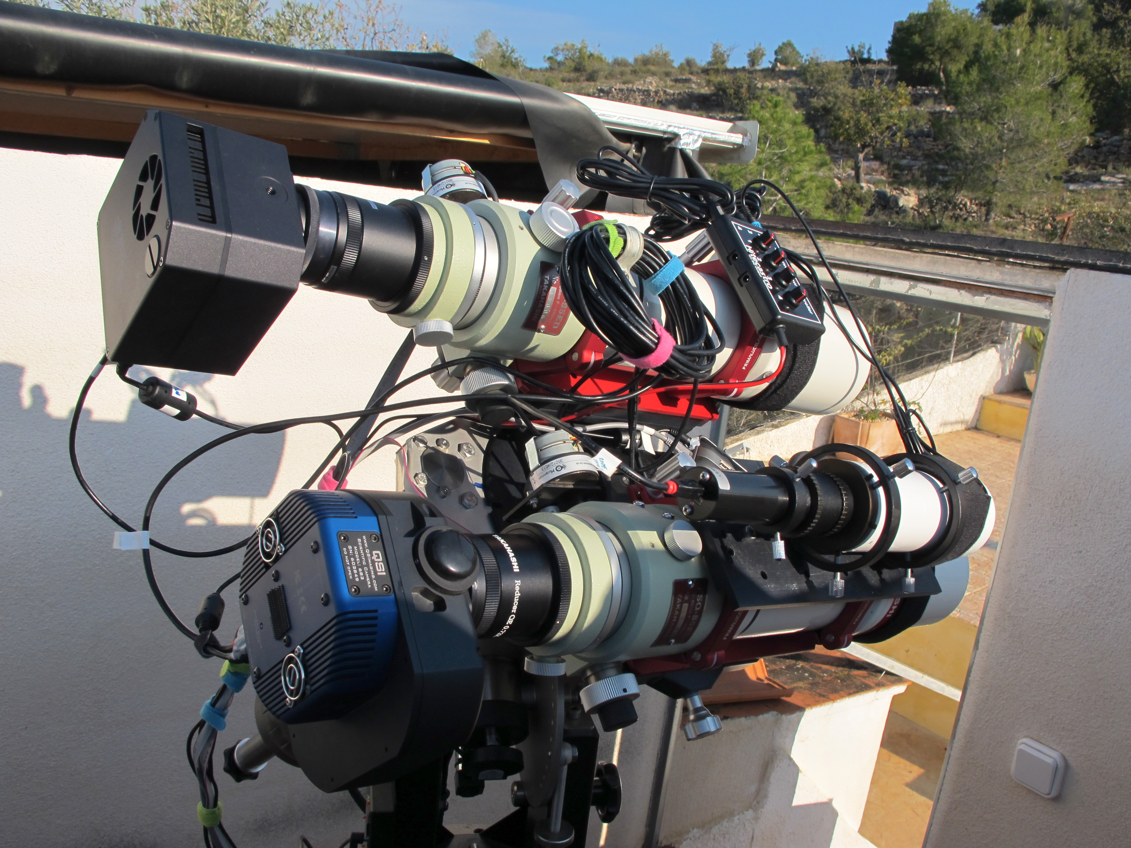 Equipment that Sara Wager uses for astrophotography - Sara Wager